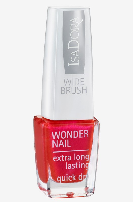 ISADORA WONDER NAIL 6 ML:570 POSH PURPLE 6 ML 643 Chelsea Red
