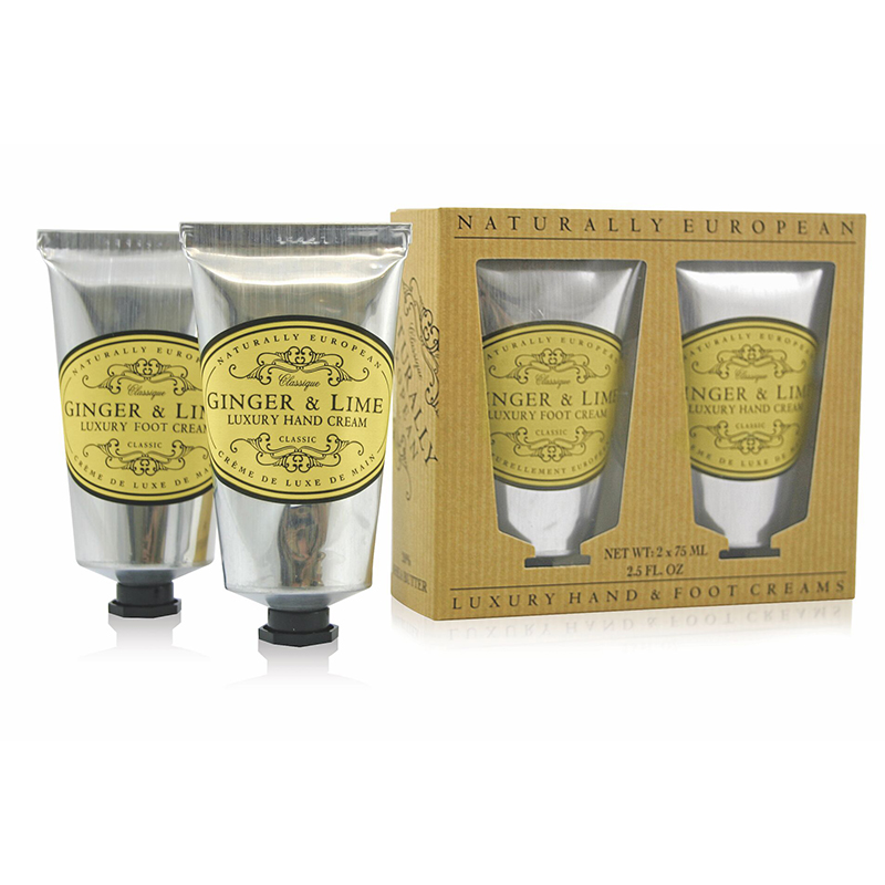 Hand / Foot Cream Set Ginger & Lime 2 x 75 ml