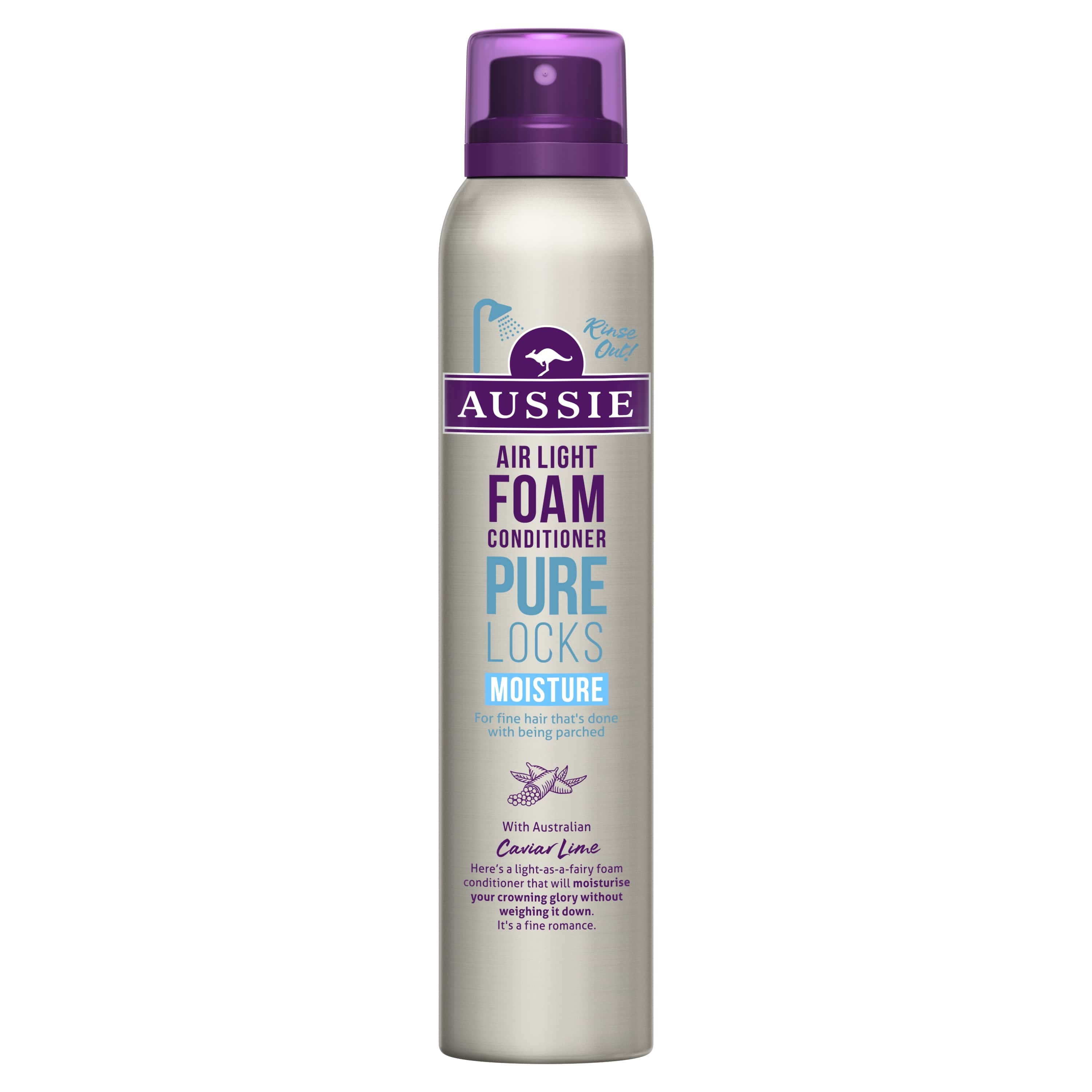 Locks Moisture Foam Conditioner, Platt Hår, Vik Hädan