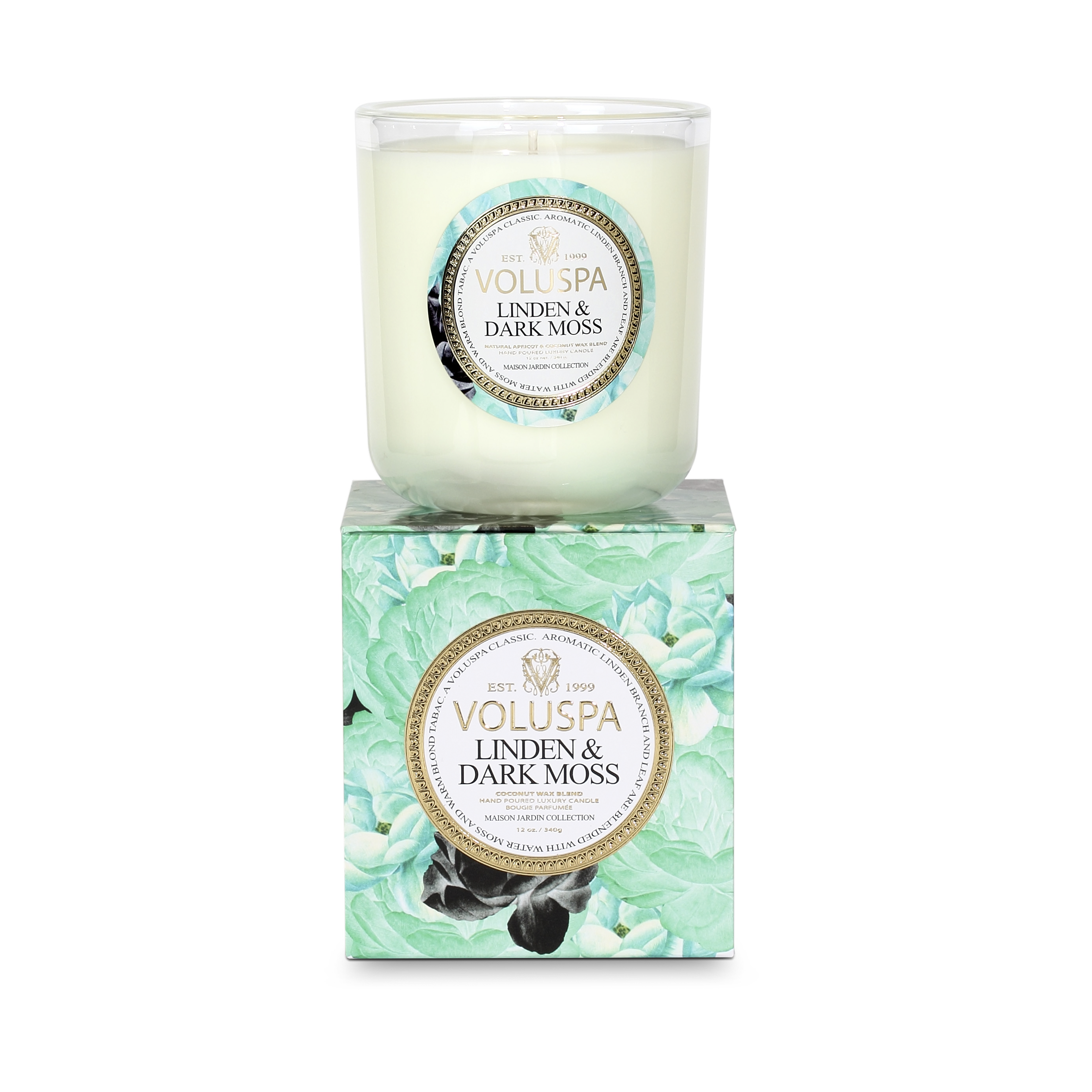 Dark Linden & Moss Classic Maison Scented Candle