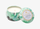 Linden & Dark Moss Decorative Tin Scented Candle