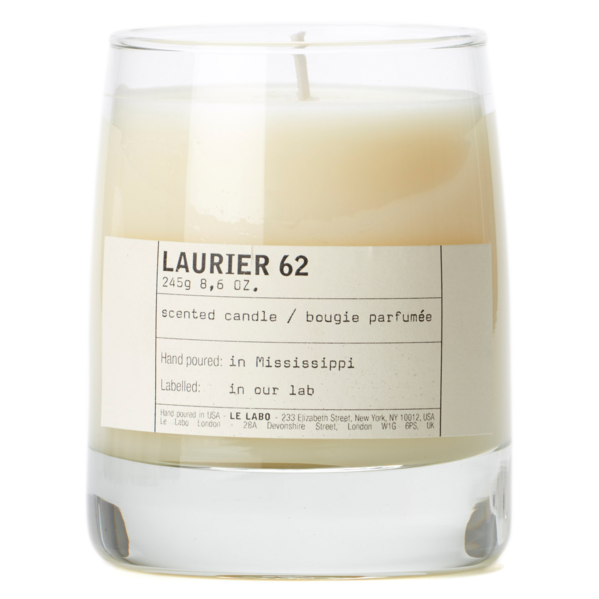 Laurier 62 - Classic Candle