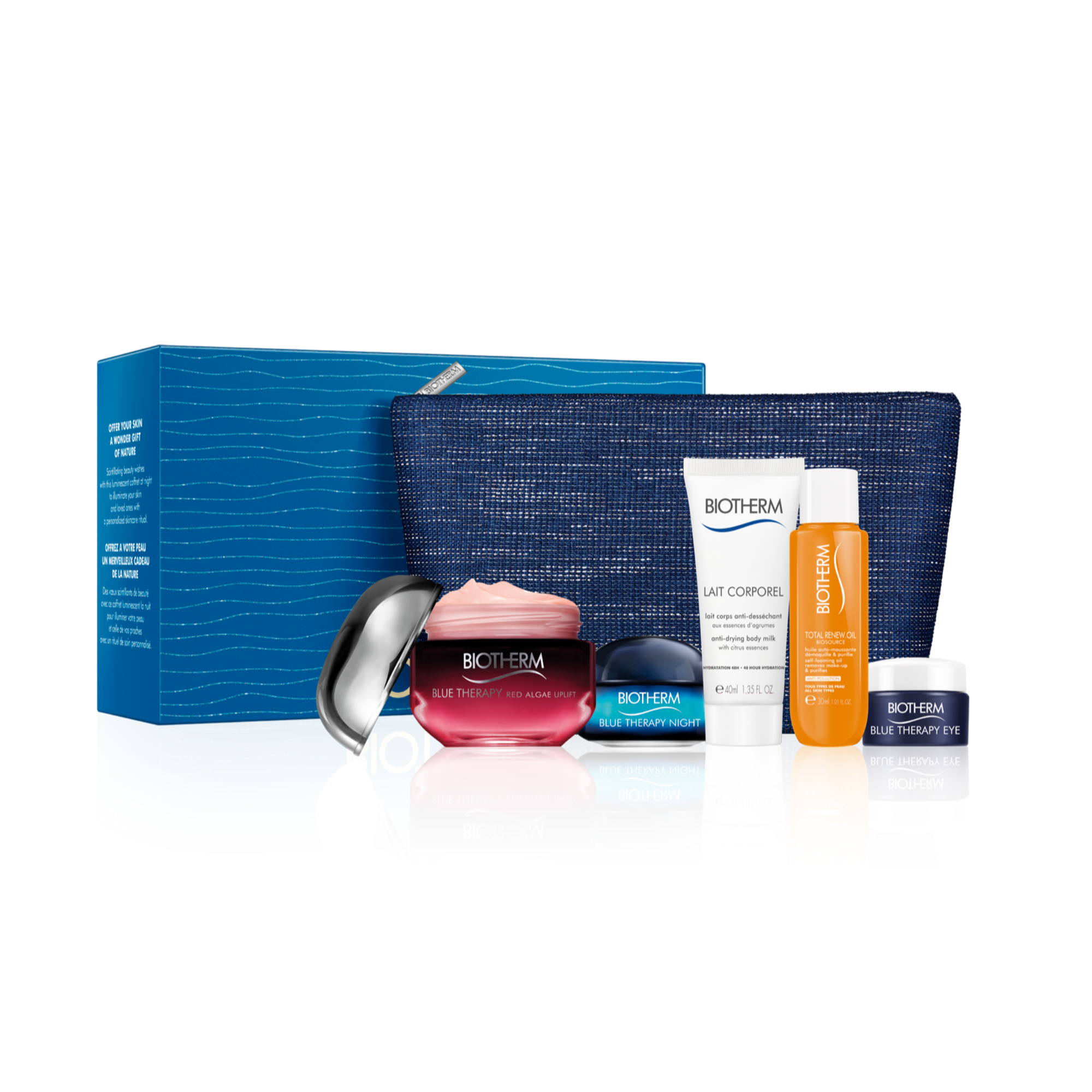 Blue Therapy Lift Cure Day Cream Giftbox