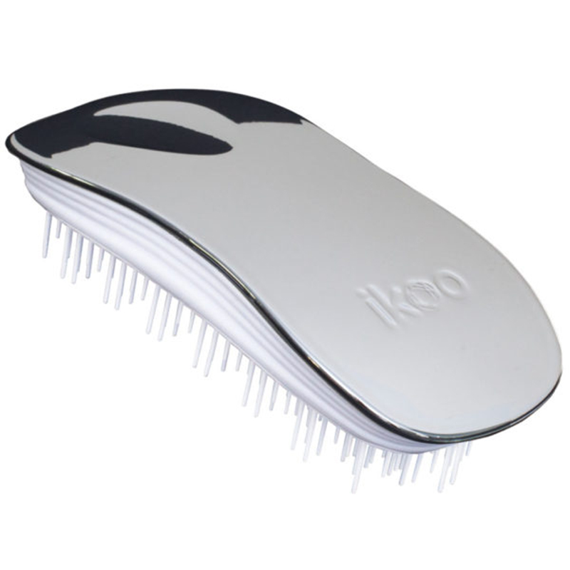 Home White - Oyster Metallic Hair Brush