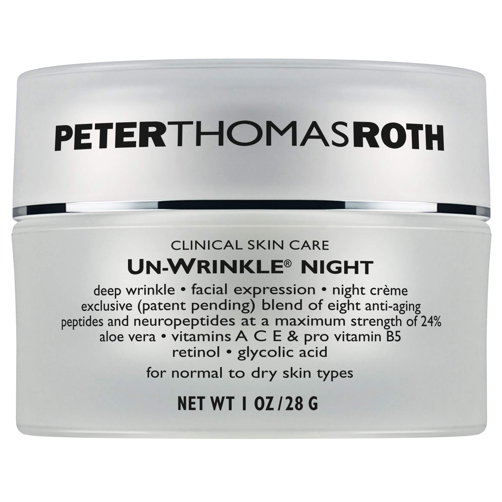 Un-Wrinkle Night Cream 30 ml