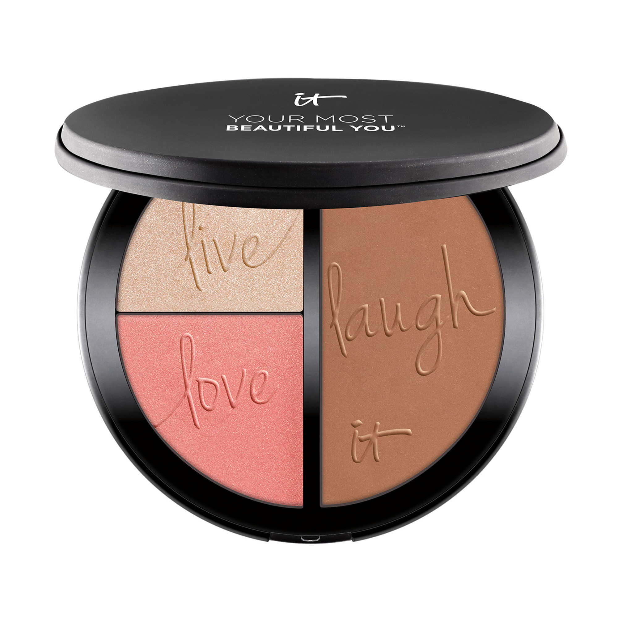 Your Most Beautiful You™  3-in-1 : Bronzer, Highlighter &  Blush Palette Bronzer, Highlighter & Blush Palette