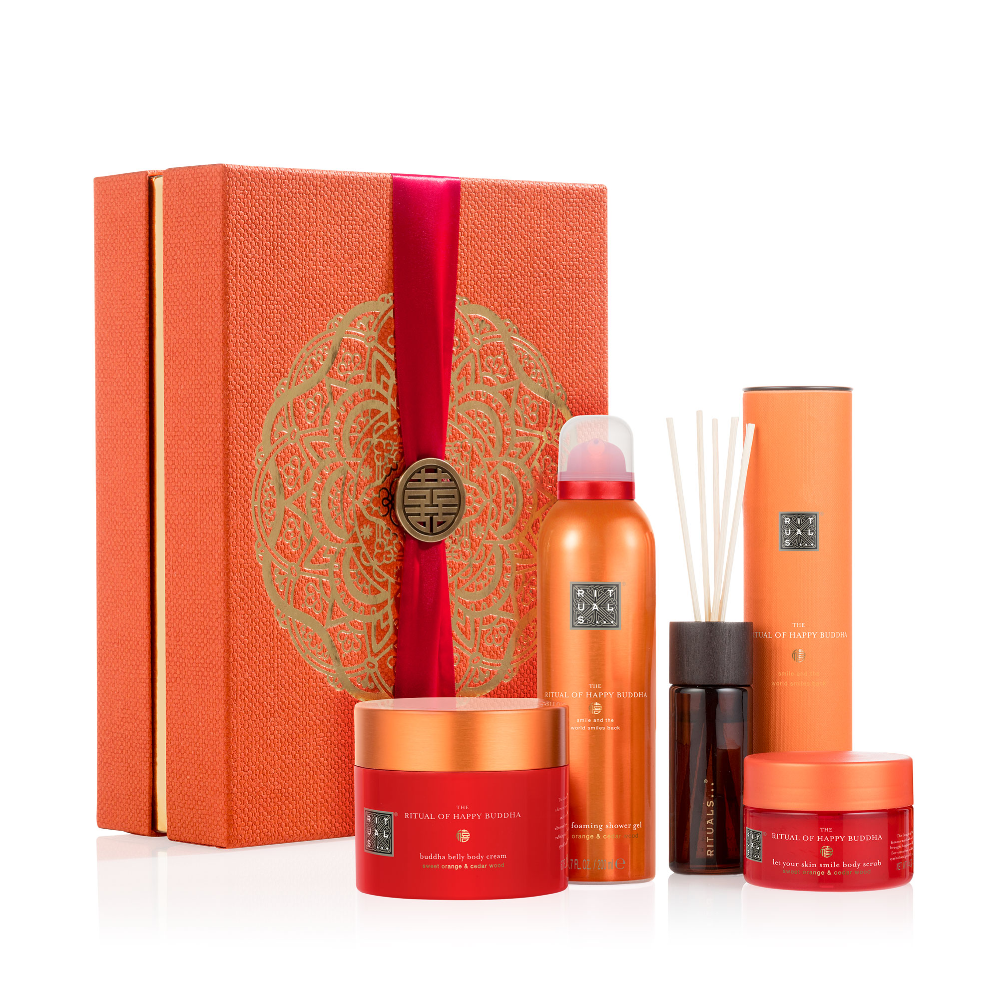 The Ritual Of Happy Buddha - Energising Collection Large Giftbox