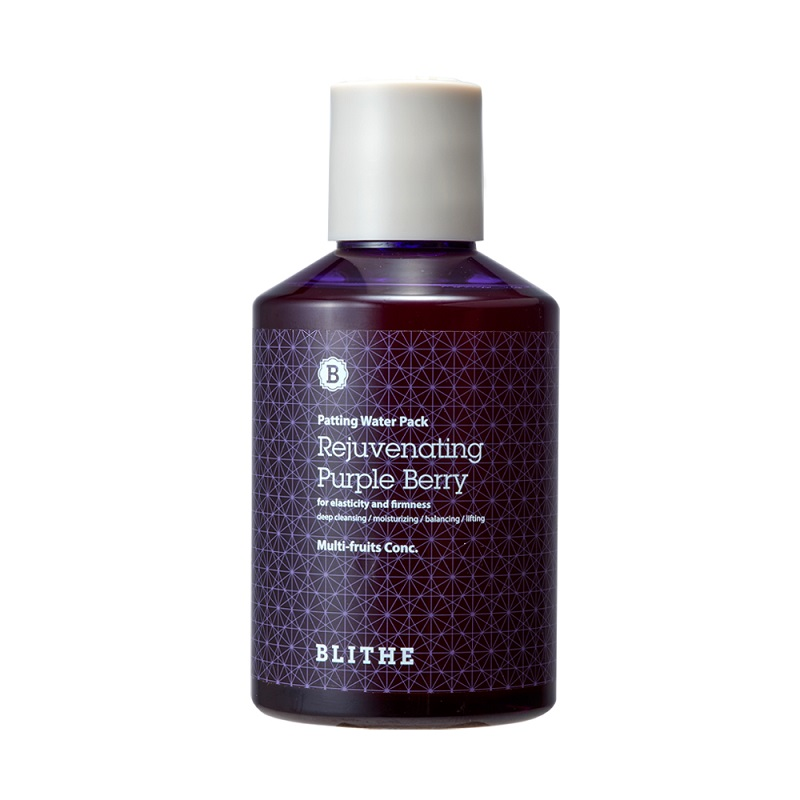 Patting Water Pack Rejuvenating Purple Berry Facial mask