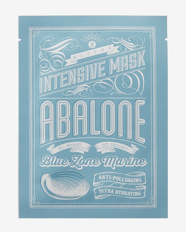 Blithe Blue Zone Marine Intensive Mask Abalone Facial masks:25g